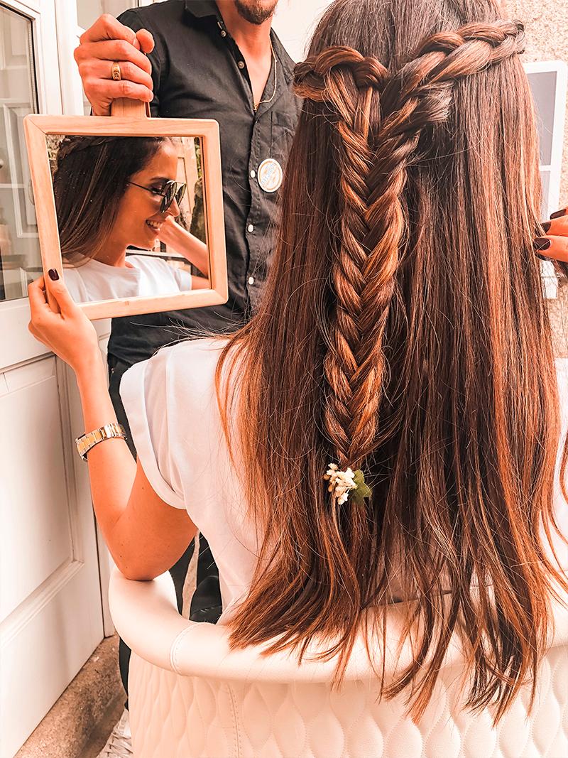 Tivemos o privilégio ainda de ser penteadas pelo especialista da @milkshakehair , Jordan Alves