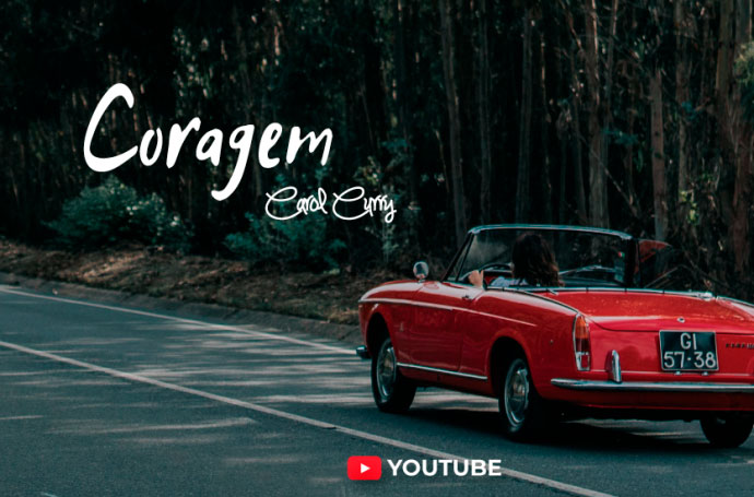 """Com o single 'Coragem', Carol Curry conquista Portugal"" - Revista Lux"