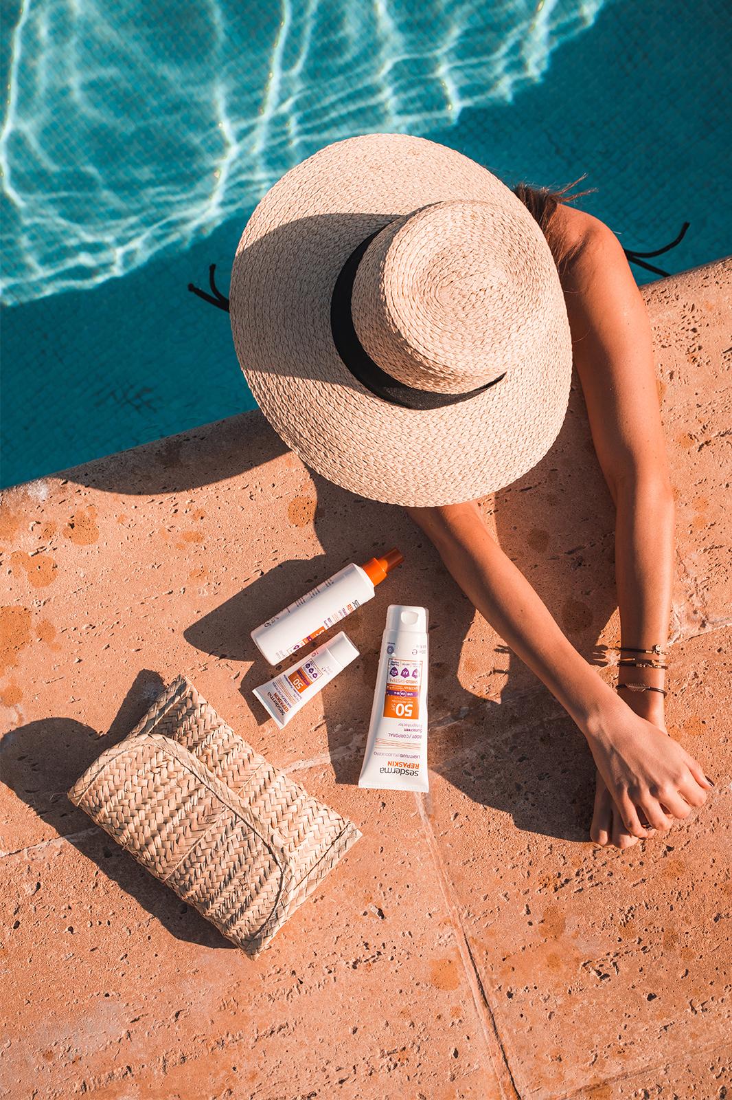 Repaskin para proteção da pela dos efeitos dos raios solares